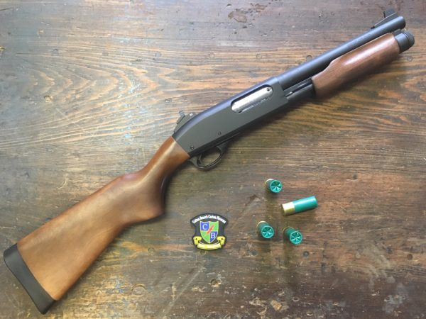 10 Inch Remington 870 4 round cap